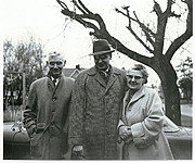 Henry, Al(?), and Mabel Gregerson