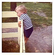 Small Boy in Public Park, 1971