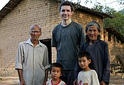 American with Rural Chinese in Gaotian