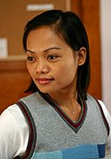 Professional Filipina Female in the Office