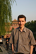 White Male, Forbidden City, Beijing, China