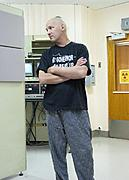 Cancer Patient Waiting for Radiation Treatment