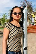 Asian Woman in Sunny California