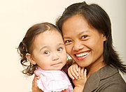 Athena and Arlene (Mother and Child)