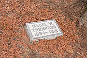 Grave of Mabel W. Thompson, 1894-1918