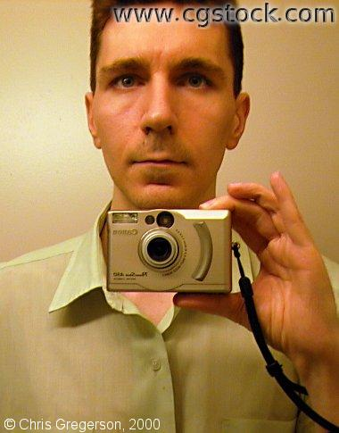 Self-Portrait with a Digital Camera