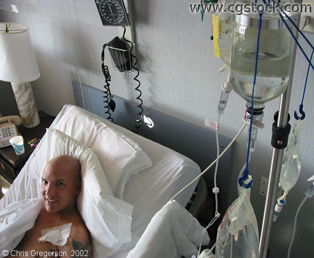 Marc During Chemo at UCLA
