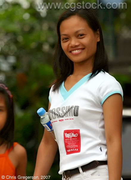 Young Filipina in her Barangay, Las-Ud