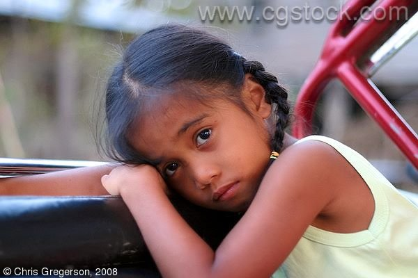 Young Niece Mauren in the Philippines
