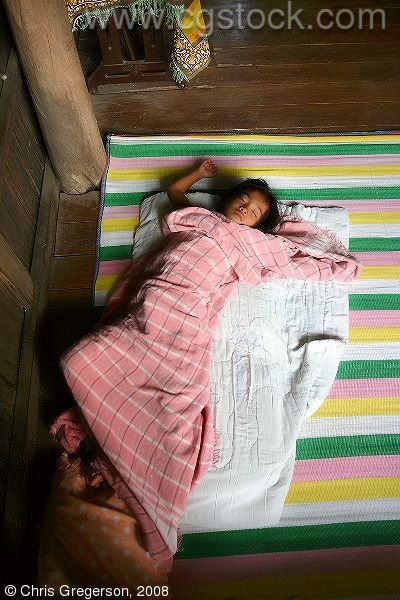 Young Girl Asleep, Ilocos Norte